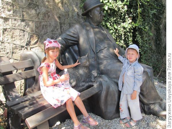 """Отдыхающий крымчанин"" и дети"
