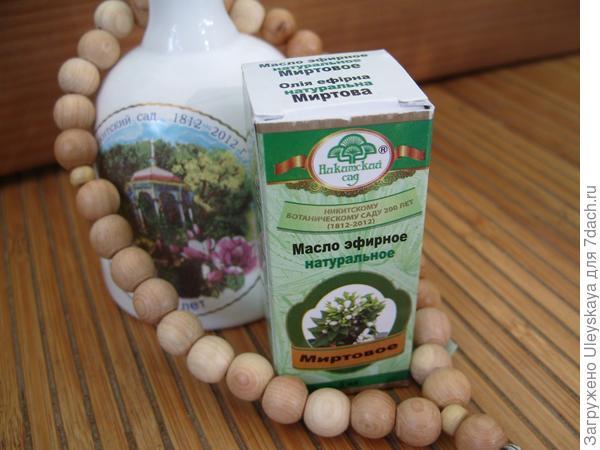 Масло мирта в продаже в Никитском ботаническом саду