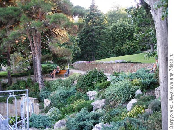 Каменистый сад.