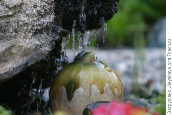 Керамика, камень, вода