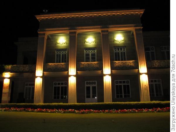 Здание администрации Никитского ботанического сада