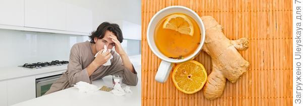 Имбирь от простуды