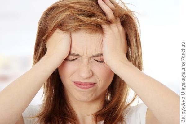 Имбирь от головной боли