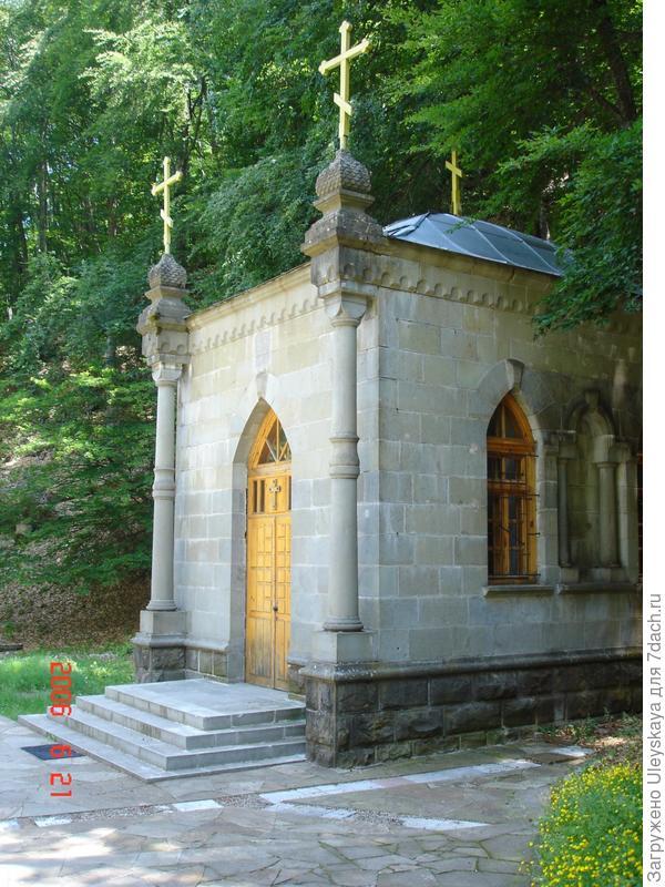 Монастырь Косьмы и Домиана в горах над Алуштой