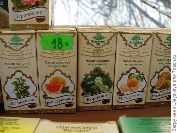 Цитрусовые ароматы