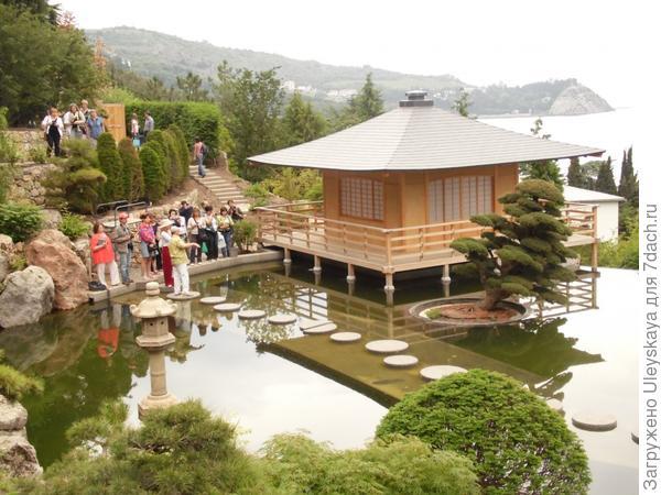 Посещение новой экспозиции Японский сад в парке ЛОК Айвазовское
