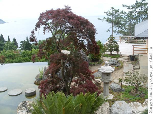 Фонари - атрибуты японского сада