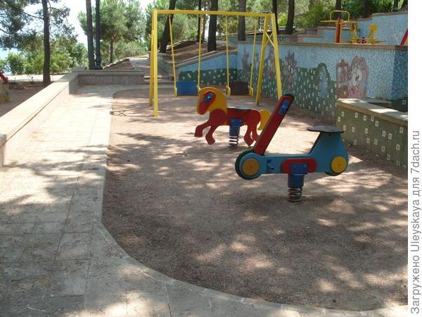 3-й уровень детской площадки