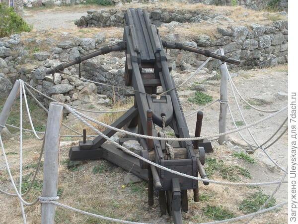 Макет деревянного огнестрельного орудия