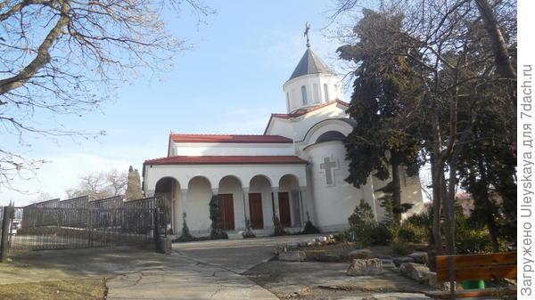 Храм Покрова Пресвятой Богородицы в Нижней Ореанде