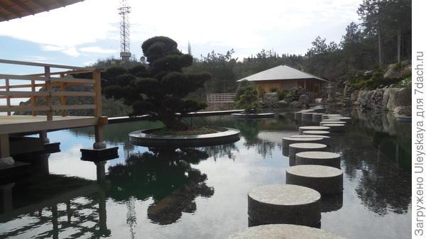 Дорожка в японском саду