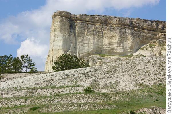Белая скала в Белогорске