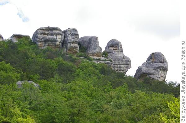 Крымские сфинксы в Каралезской долине