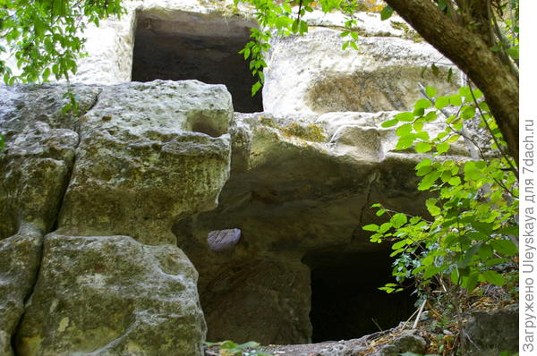 Фрагмент пещерного города