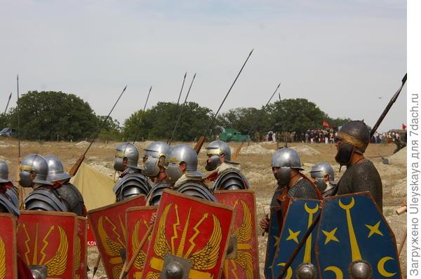 Рыцари средневековья XIV века