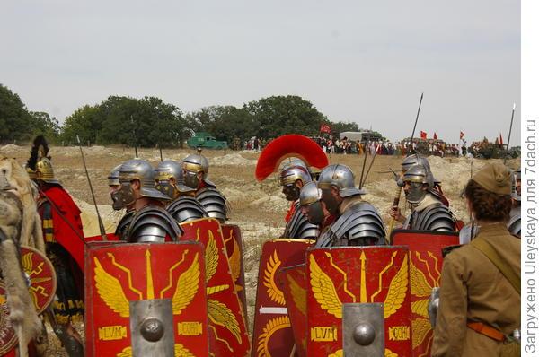 Фрагмент открытия Крымского военно-исторического фестиваля