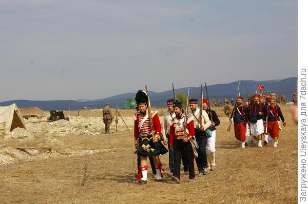 Участники площадки Крымской войны