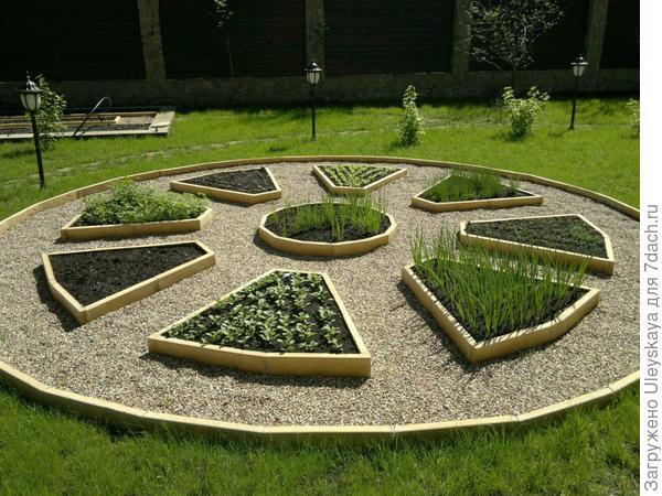 Декоративный огород, партерный, фото сайта vastland.ru