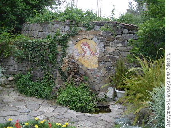 На территории Топловского женского монастыря, Крым