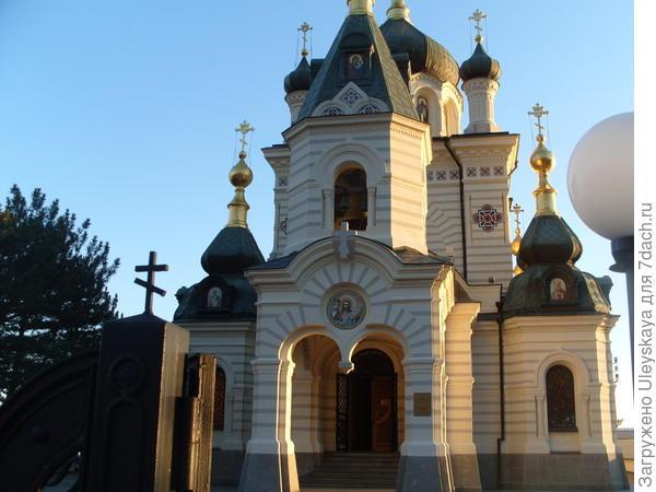 Храм Воскресения Христова, Форос, Крым