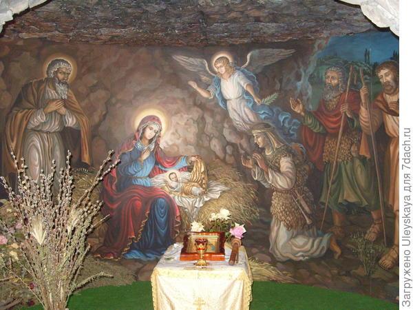 В часовне Рождества Христова, Ласпи, Крым