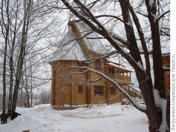 На территории Творожковского женского монастыря, Псковская область