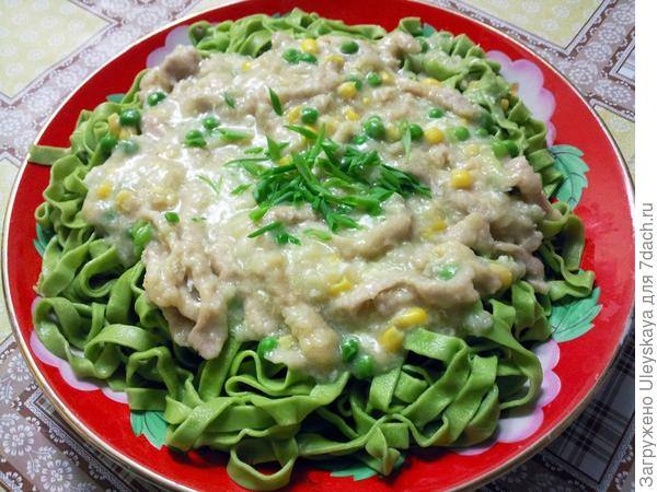 Блюдо с зеленым луком, фото сайта cookownfood.blogspot.com
