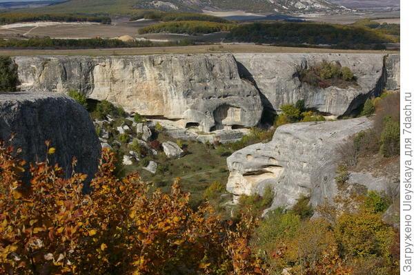 Вид на ущелье Черкес Кермен
