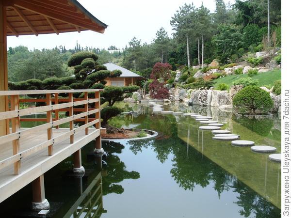 Дорожка в японском саду, фото автора