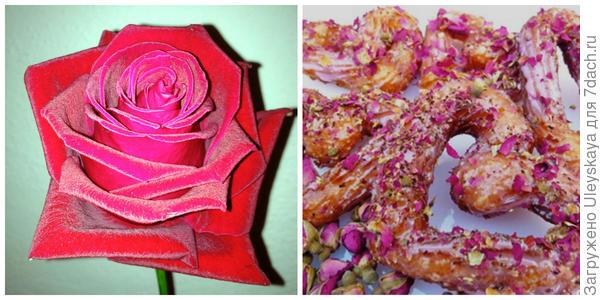 Красивая роза, цветок, фото автора. Сердечки с лепестками роз. Фото с сайта listofbest.ru