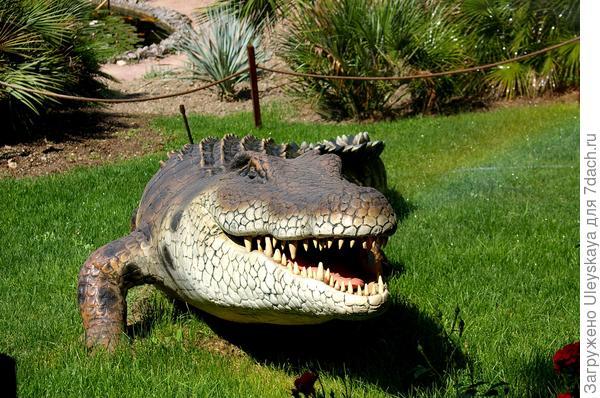 Динозавр 1 из Приморского парка