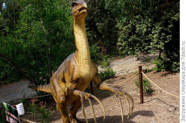 Динозавр 3 из Приморского парка