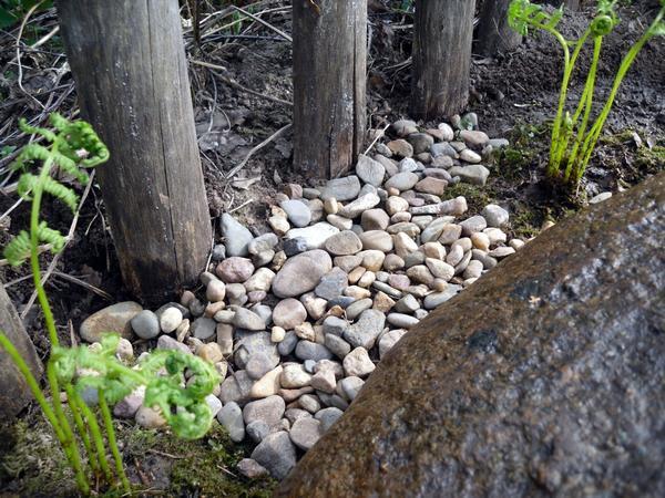 Каменная отсыпка