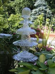Вазы как садовая скульптура
