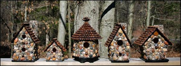 Каменные домики для птиц