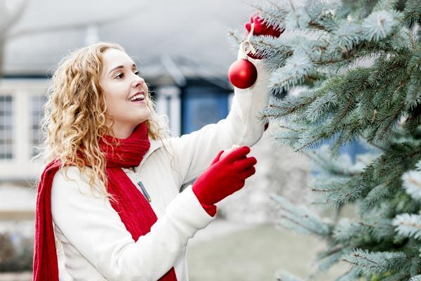 Украшаем новогоднюю ель
