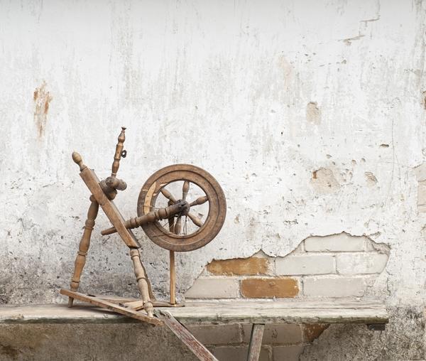 Старая прялка