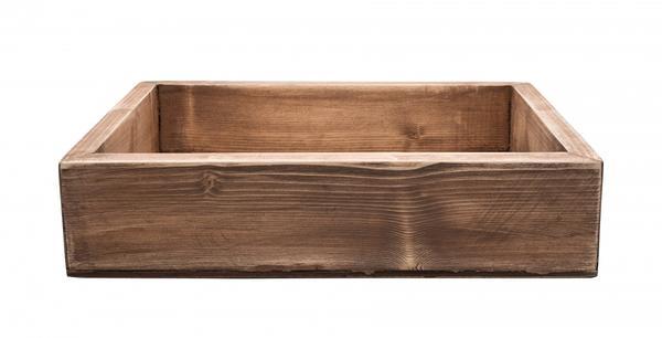 Проще всего использовать обычный деревянный ящик