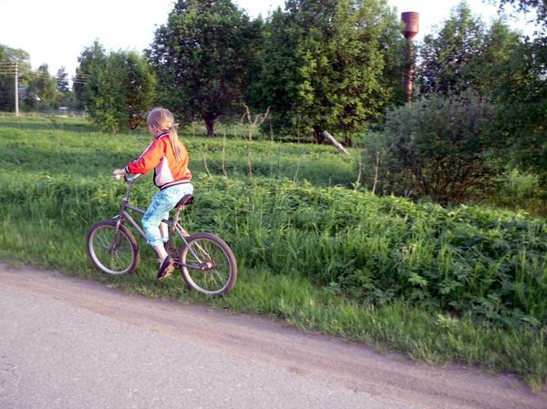 Велосипед - тоже средство передвижения