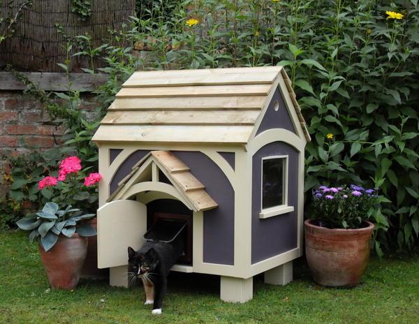 КОТтедж, фото с сайта www.cottagegardenhenhouse.co.uk
