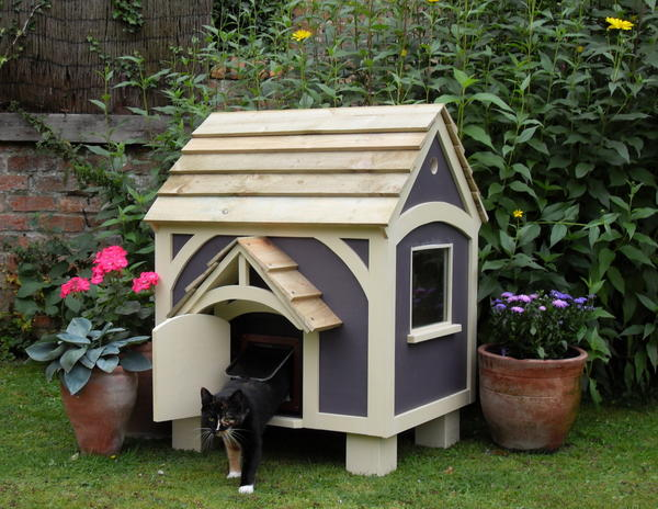 КОТтедж, фото с сайта cottagegardenhenhouse.co.uk