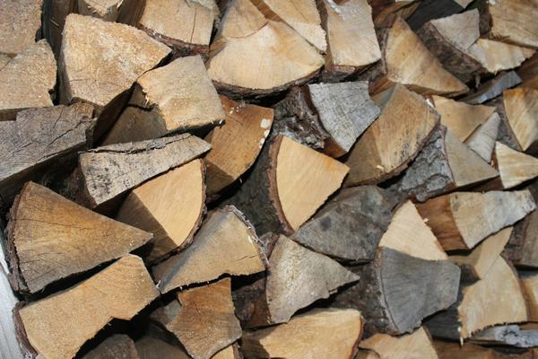 Лучше выбирать дрова лиственных пород дерева с плотной древесиной