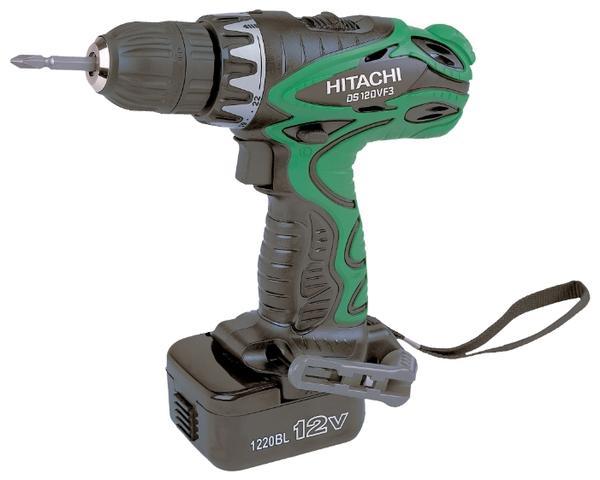 Дрель-шуруповерт Hitachi DS12DVF3