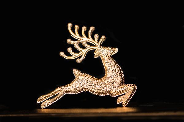 Рождественский олень - один из символов предстоящих праздников