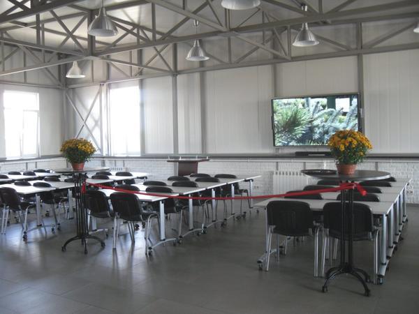 Учебный центр. Перед открытием