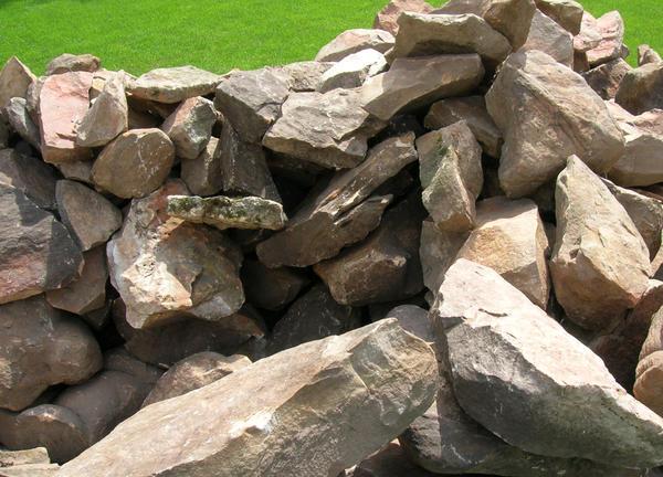 Используйте разнообразные камни