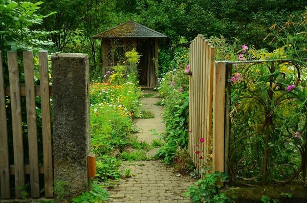 Сад должен соответствовать имеющимся ресурсам времени, сил и денег