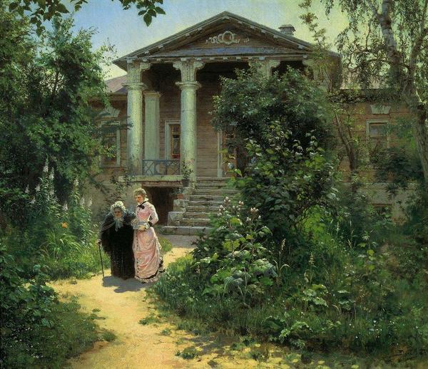Василий Поленов. Бабушкин сад. 1879 г.