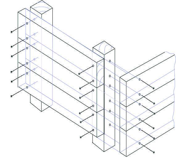Схема сборки контейнера
