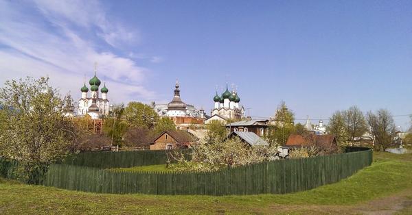 Где искать русский сад?